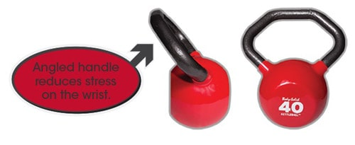 Body-Solid Kettleball angled handle