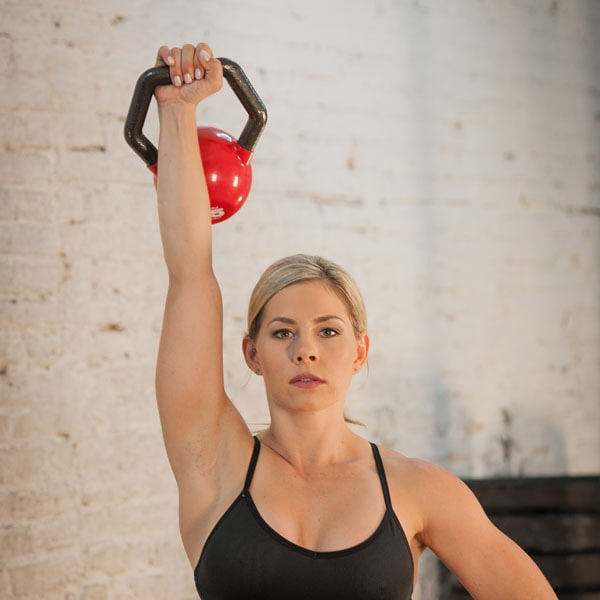 Body-Solid Kettleball Kettlebell Overhead Press