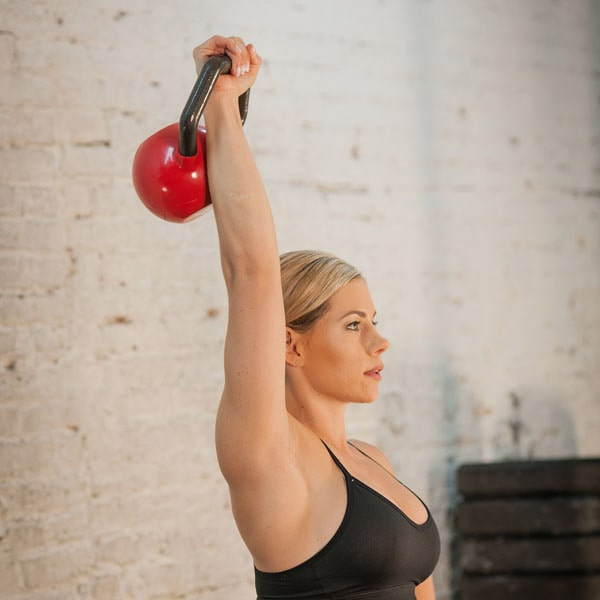 Body-Solid Kettleball One Arm Shoulder Press