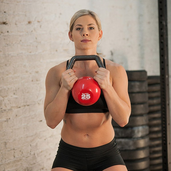 Body-Solid Kettleball Goblet Squat
