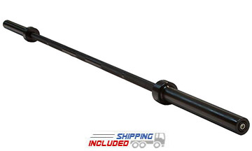Body Solid OB86B 7' Black Oxide Olympic Weight Lifting Bar