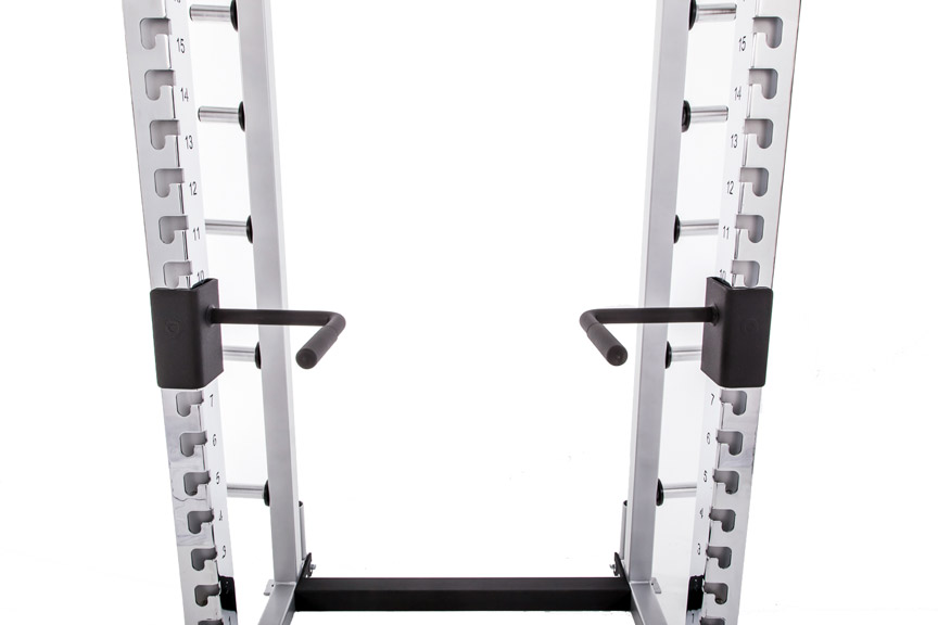 Half Rack Attachable Dipping Handles for Triceps and Chest Training
