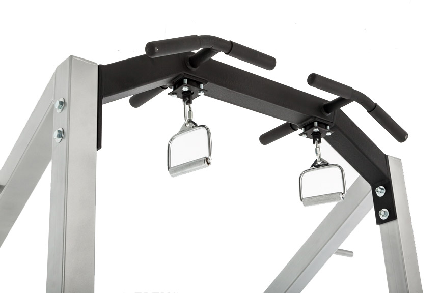 Half Rack Swivel Handles for Pull-Ups