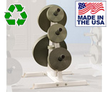 Bomb Proof BP-44 A-Frame Olympic Weight Plate Holder for Commercial Gyms