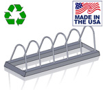 Bomb Proof BP-61 USA Made Horizontal Bumper Plate Rack