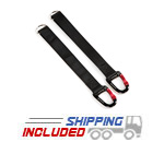 CrossCore Accessory Straps for Kettlebells and Gymnastics Rings
