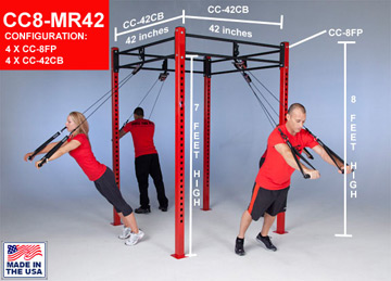 CrossCore Rotational Bodyweight Training Rack