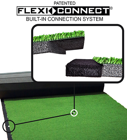 GymTurf 365 by Dollamur Flexi-Connect Built-In Turf Connection System