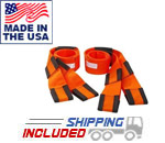 Forearm Forklift Moving Straps for Gym Equipment and Furniture