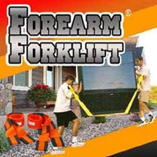 Forearm Forklift Moving Straps for Gym Equipment and Furniture at Ironcompany.com