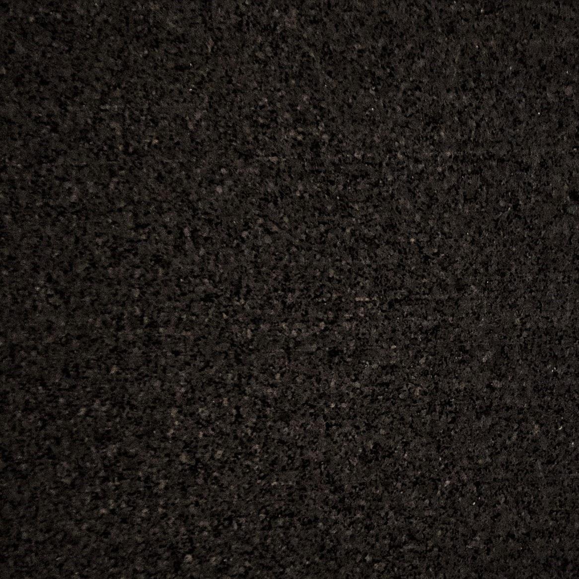 GYMlogix Rubber Flooring Tiles Solid Black