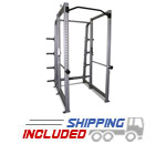 Intimidator 8 Foot Power Rack with Plate Holders