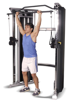 Inflight 2 Stack Functional Trainer Military Press