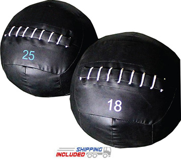 Soft Cover Large Diameter Wall Medicine Balls