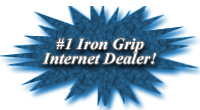 Ironcompany.com, the number 1 Iron Grip Internet Dealer
