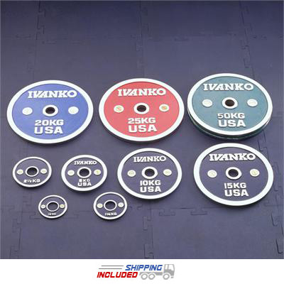 Ivanko CBP Chrome Calibrated Olympic Plates