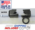 Adjustable Steel Beam Clamp with Link