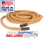 Manila Power Conditioning Rope with Poly Boot Ends