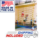 Jammar CN-12 Indoor Climbing Cargo Net with 3/4