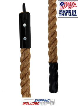 Jammar USA Made Indoor Manila Climbing Rope Package for Government Purchase