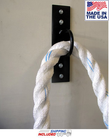 Wall Plate Anchor for Power Conditioning Ropes