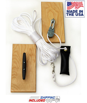 USA Made Jammar RN-1 Rope Hoist for Indoor Climbing Rope