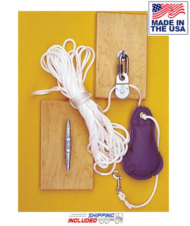 Rope Hoist for Indoor Climbing Rope