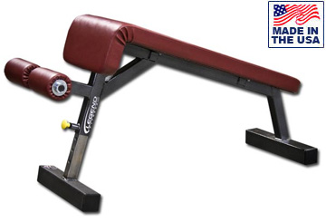 USA Made Legend Fitness 3102 Decline Utility Bench with Leg Rollers