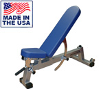 American Made 0-90 Degree Three-Way Utility Bench