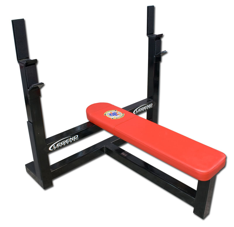 Is Flat Bench Press Good Or Not: Basic Olympic Flat Bench Press -- Legend Fitness (3105