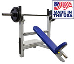 Legend Fitness 3106 Basic Olympic Incline Bench Press w/Spotting Platform