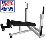 Legend Fitness 3109 Basic Olympic Decline Bench Press for Commercial Gyms