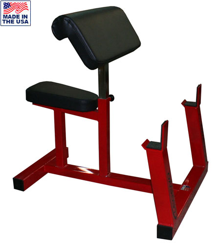 USA Made Legend Fitness 3114 Adjustable Commercial Preacher Curl Bench