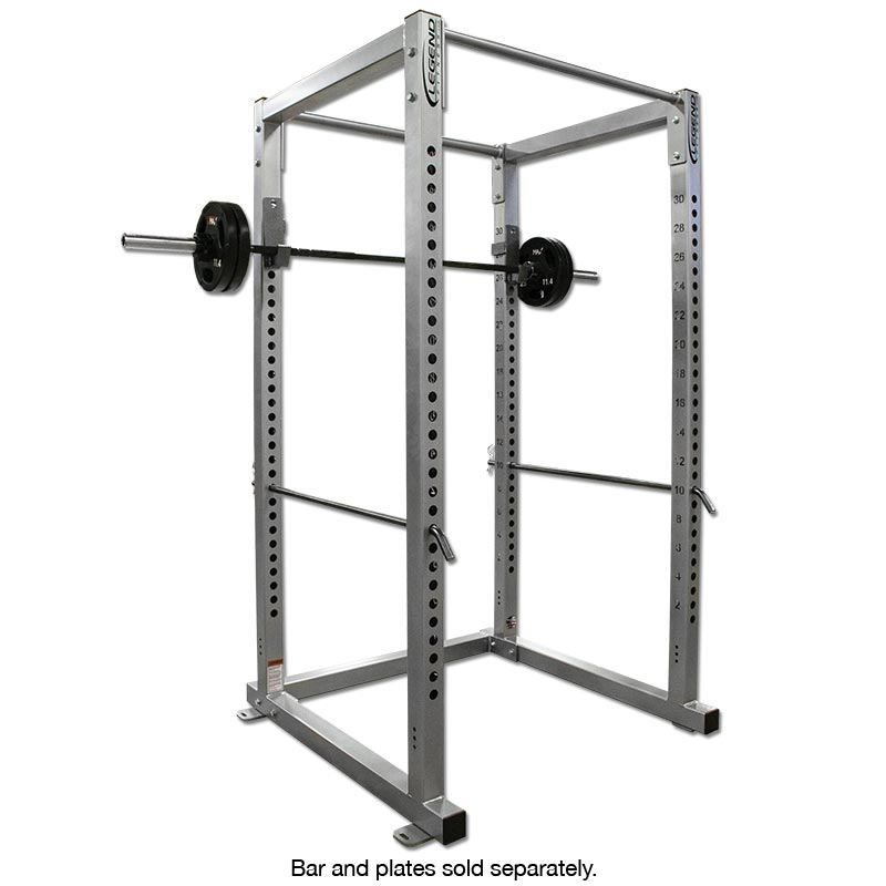 Power Rack With Weights: Weight Lifting Power Rack -- Legend Fitness (3121