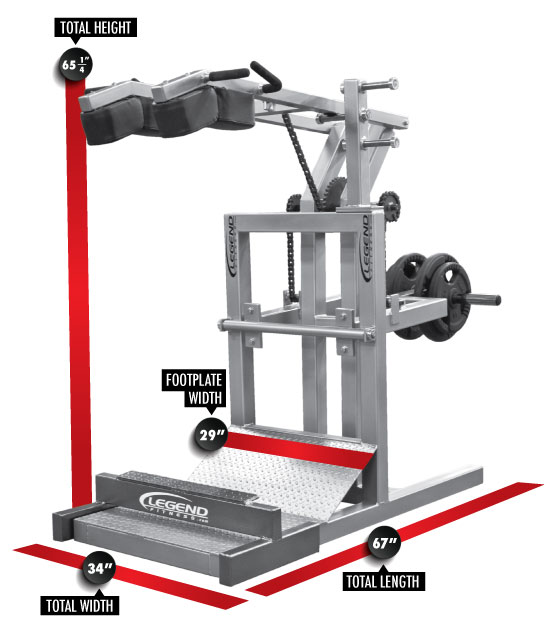 half squat machine