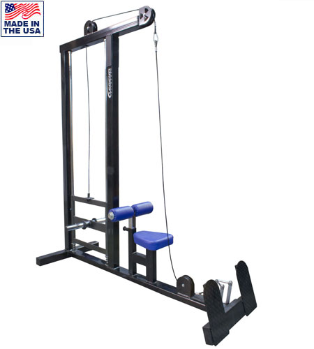 Legend Fitness 3136 Plate Loaded Lat Pull-Down Low Row Combo Machine