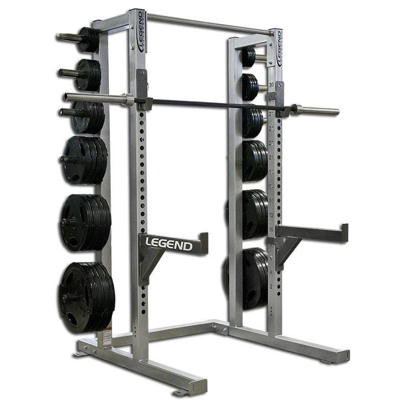 Heavy Duty Weight Lifting Half Cage Legend Fitness 3142
