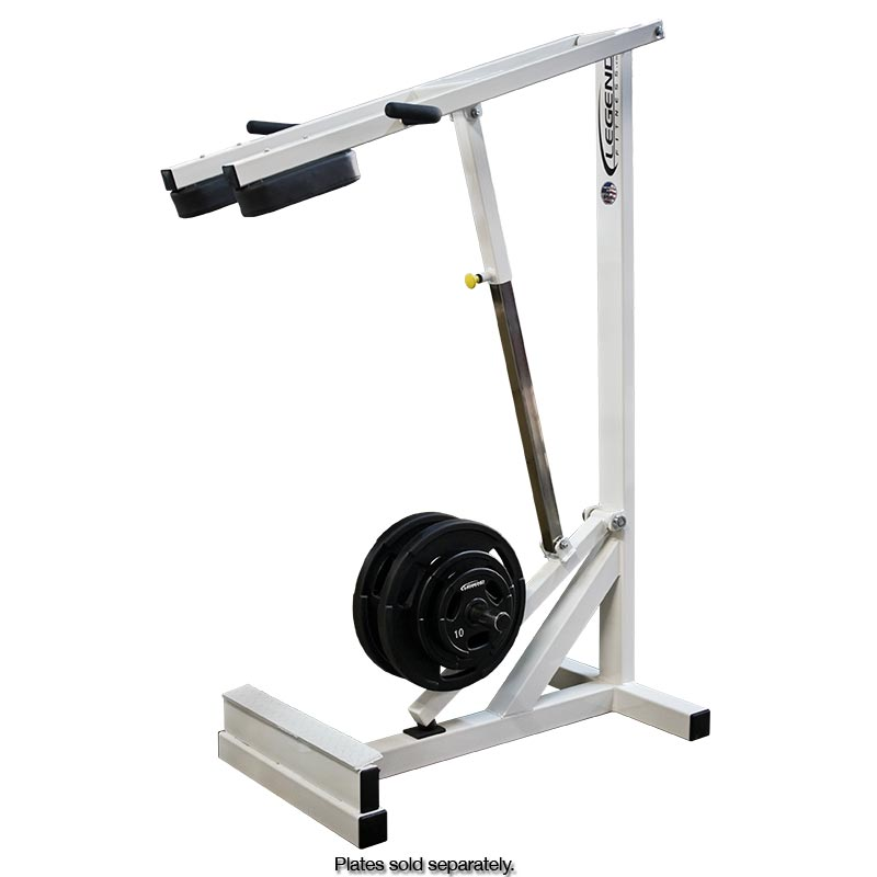 Plate Loaded Standing Calf Raise Machine Legend Fitness