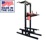 Legend Fitness 3153 Fully Welded Dip/Chin/Ab/Push-Up Station