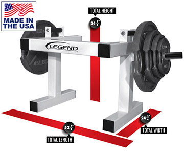 Legend Fitness 3165 Plate Loaded Trap Shoulder Shrugger
