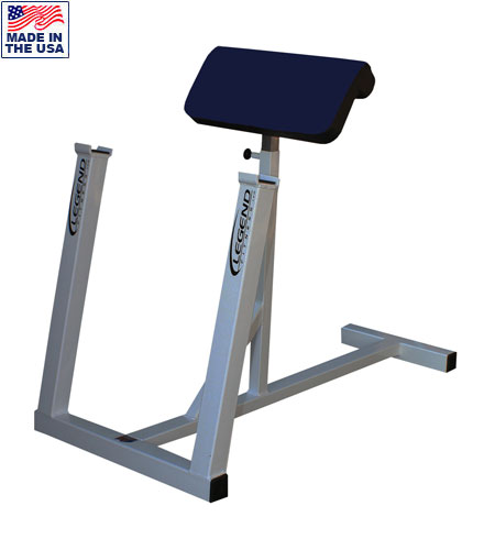 USA Made Legend Fitness 3166 Adjustable Standing Preacher Curl Bench