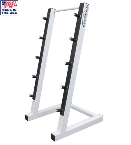 Legend Fitness 3174 5-Bar Commercial Horizontal Barbell Rack