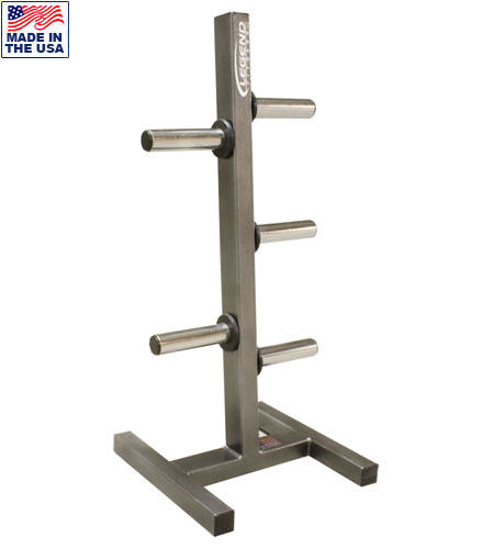 Legend Fitness 3193 Olympic Peg Plate Holder for Commercial Gyms