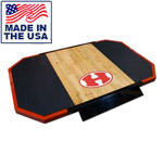 Legend Fitness 3194 6' x 8' Hardwood and Rubber Weightlifting Platform