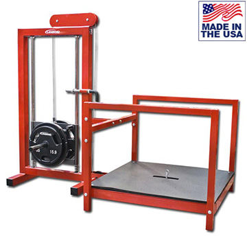Legend Fitness 3217 Plate Loaded Belt Squat Leg Trainer with Rubber Platform