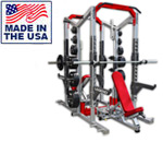 Legend Fitness 3227 PRO SERIES Double-Sided Half Cage
