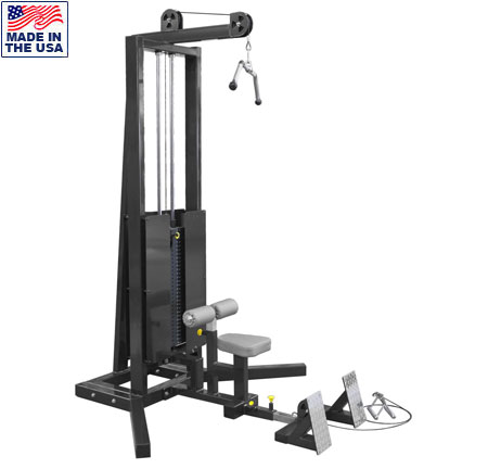 Legend Fitness 3228 PRO SERIES Seated Lat / Floor Row