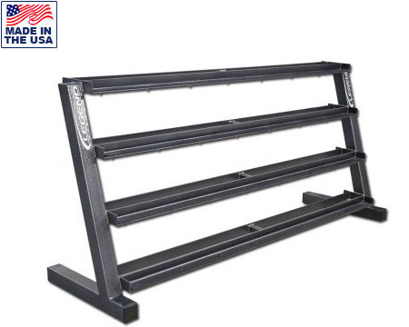 Four-Tier Hex Head Dumbbell Rack