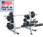 Legend Fitness 3243 PRO SERIES Olympic Decline Bench with Band Pegs