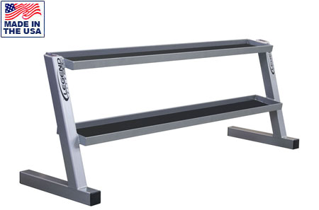 Legend Fitness 3245 Two Tier Commercial Kettlebell Storage Rack